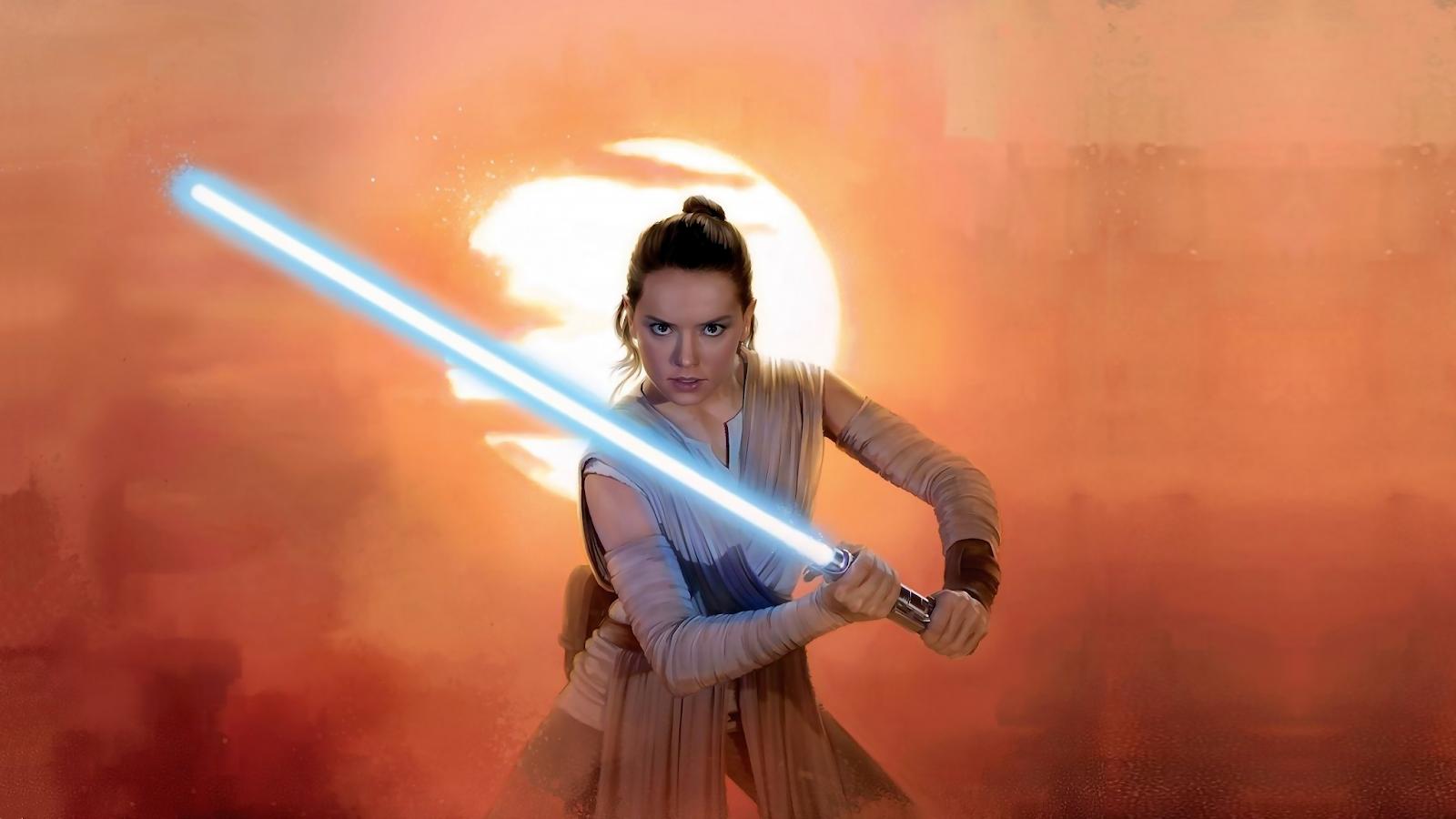 Star Wars wallpaper 4k Ray