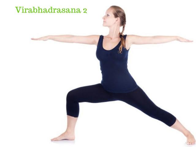 Warrior 2 – Virabhadrasana 2