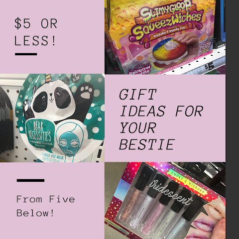 8 Super Awesome Gift Ideas for Your Bestie for $5 or less! – Five Below Finds