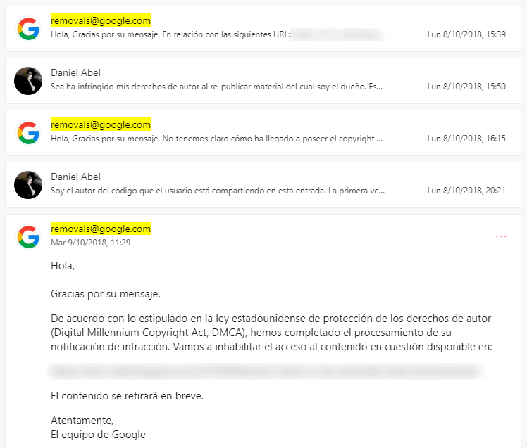 disputa legal código