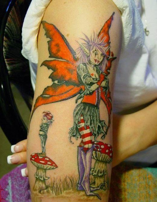 535e0e877fc4d Fairy Tattoos