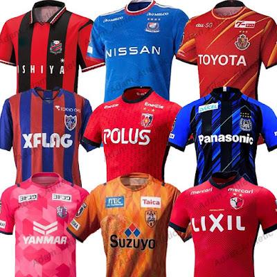 J-League Kits 21/22