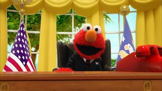 Elmo the Musical President the Musical, President of the United States, Sesame Street Episode 4311 Telly the Tiebreaker season 43