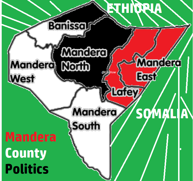 MURULE ONLINE....: MANDERA EAST CONSTITUENCY