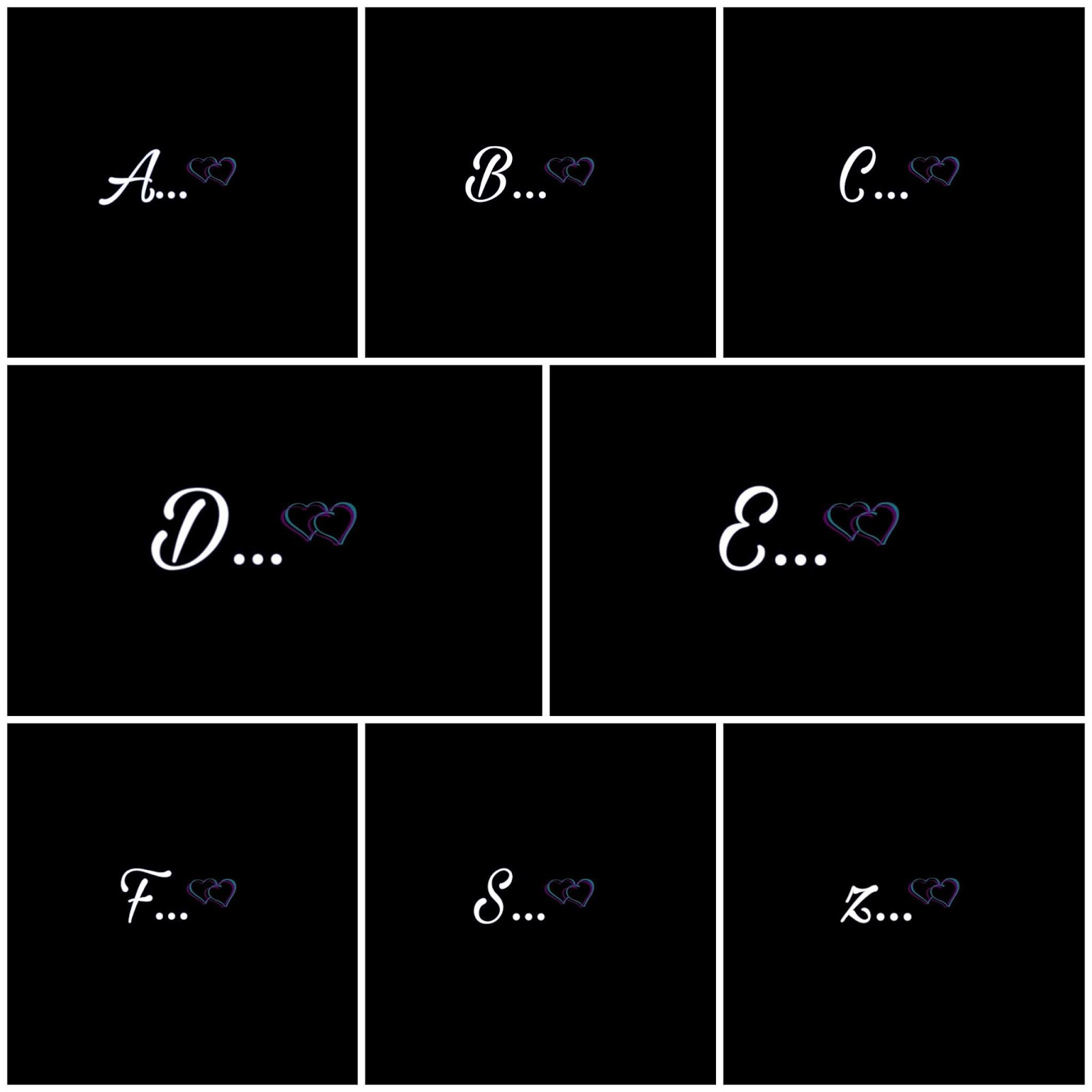 A To Z Stylish Alphabet Images For dpz