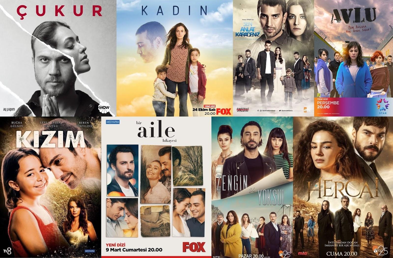 Dizi Avlu Izle kış sezonu İzlediğim türk dizileri (2019)