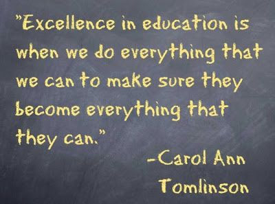 Quotes on Excellence in Education