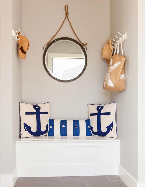 Built In Entryway Small Nook Storage Bench Wardrobe Idea