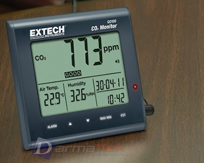 Jual Extech CO-100 Desktop Indoor Air Quality CO2 Monitor