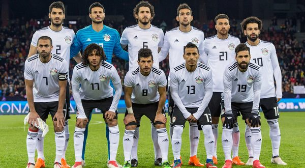 عاجل.. تشكيلة مصر امام روسيا