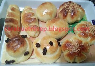Foto Resep Roti Bakery Isi Sederhana Lembut dan Empuk Asli Enak
