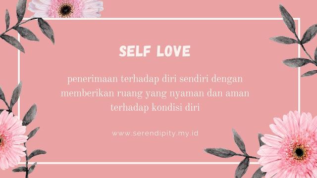 apa itu self love?