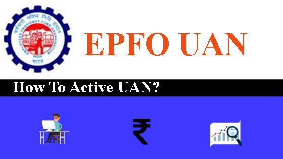 epf uan activation
