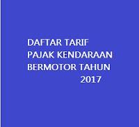 RINCIAN KENAIKAN TARIF KENDARAAN BERMOTOR 2017