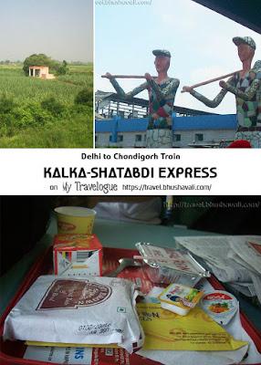 New Delhi to Chandigarh Shatabdi