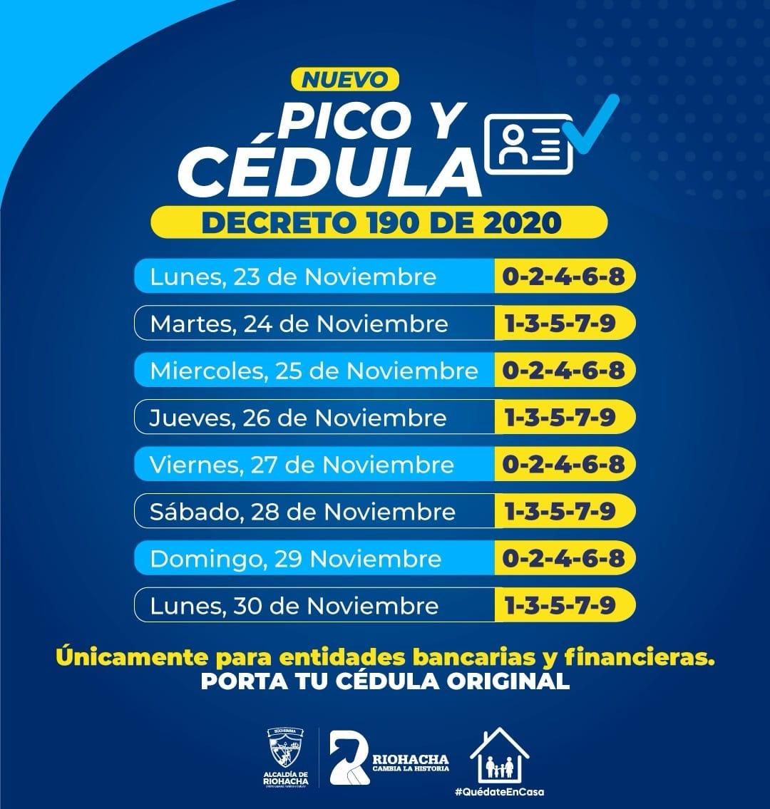 https://www.notasrosas.com/Riohacha tiene Nuevo Pico y Cédula