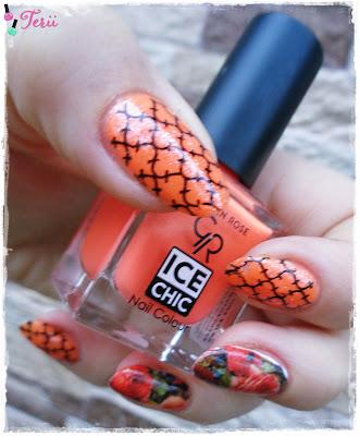 Pomarańczowo Mi z Golden Rose Ice Chic 303