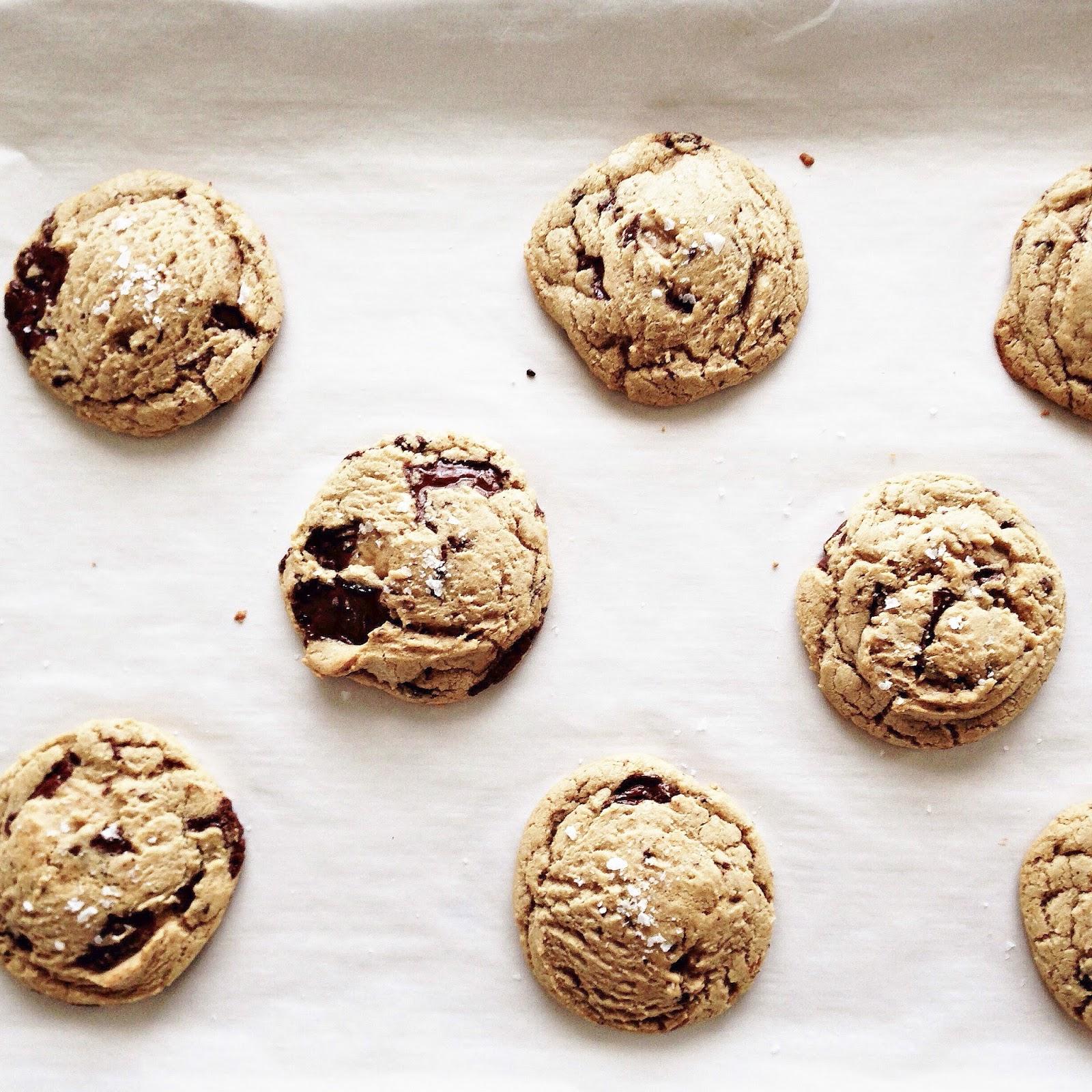 BREANNA\'S RECIPE BOX: Bleeding Chocolate Chip Cookies