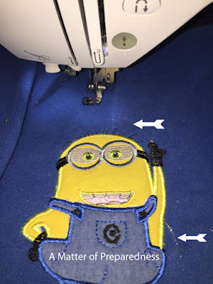 Fixing Machine Embroidery mistakes!