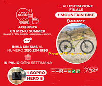 Logo oca-Cola e MyChef : vinci GoPro Hero 8 e Mountain Bike Scott