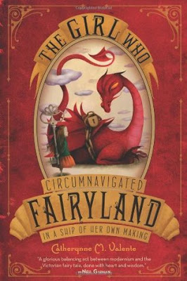 Purrfectly Bookish: The Girl Who Circumnavigated Fairyland in a Ship of Her Own Making
