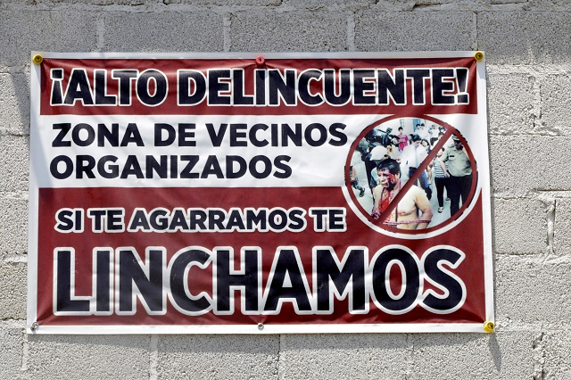 Diputados del extinto PES impulsan iniciativa contra linchamientos