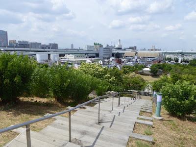 八幡屋公園グリーンヒルズ展望台からの眺望