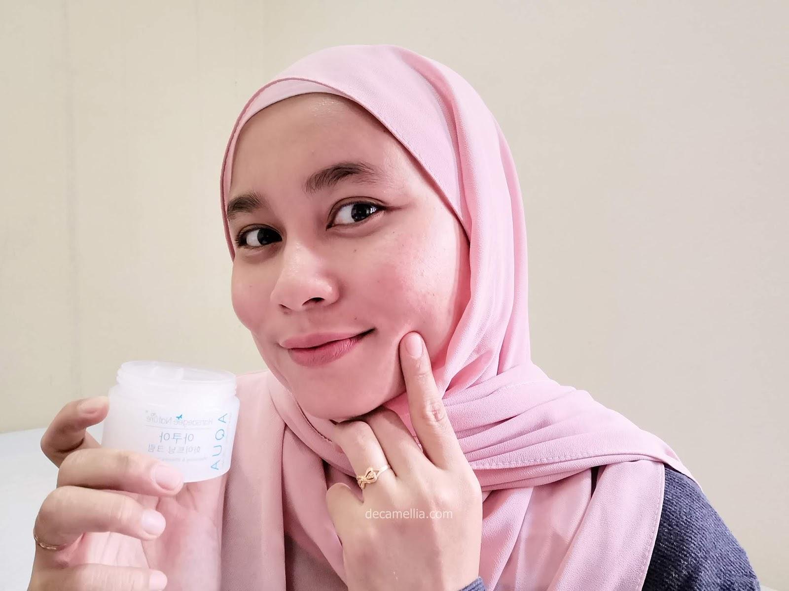 review moisturizer hansaegee whitening cream