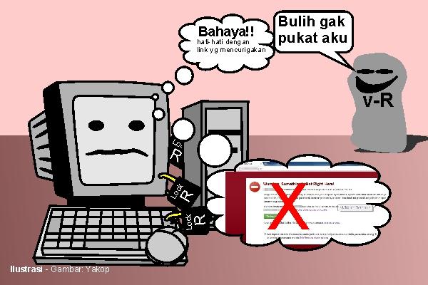 Virus Ransomware Serang Pemkab Sekadau