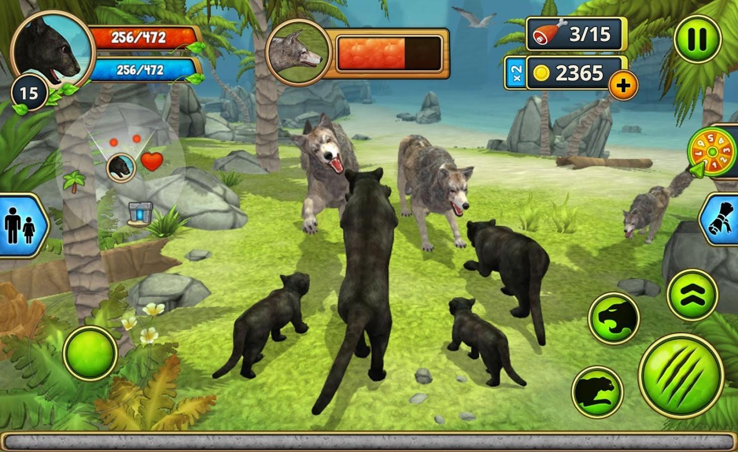 Panther Family Sim Online Play Online MOD APK terbaru