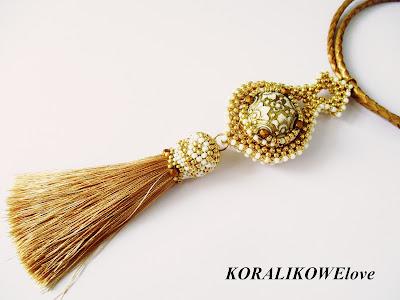 wisior,toho,weraph,vintage beads,koralikowelove,tutorial,koraliki,rękodzieło,handmade,royal stone