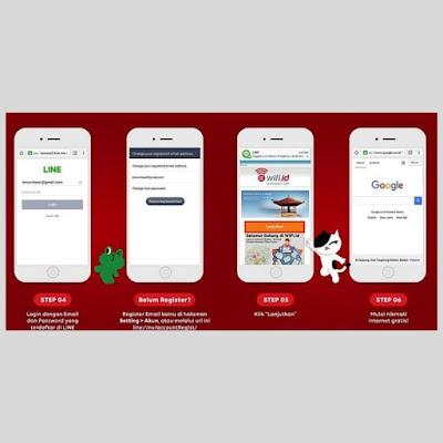 Cara mengakses Wifi.id gratis