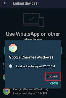 WhatsApp Web से Hack व्हाट्सएप्प हैक कैसे हटाये