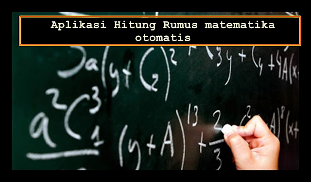 Aplikasi Hitung Rumus Matematika Otomatis Versi Terbaru