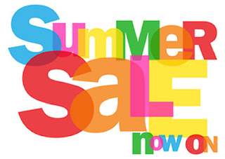 Swing into Summer Sale at Piece of Scrap on eBay
