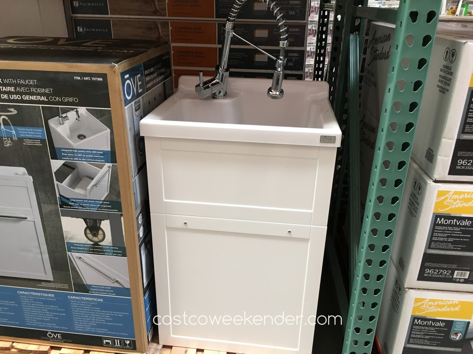 Ove Daisy Utility Sink With Faucet Costco Weekender