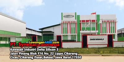 Lowongan Kerja PT. SyneRal Indonesia Lippo Cikarang 2019