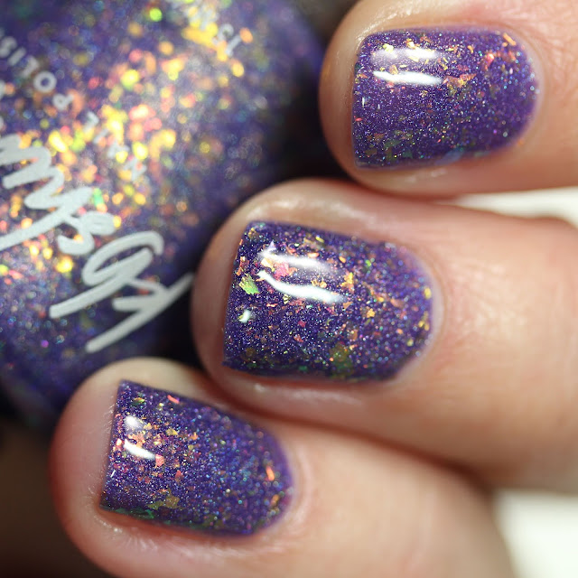 KBShimmer Could Had A Bad Witch swatch