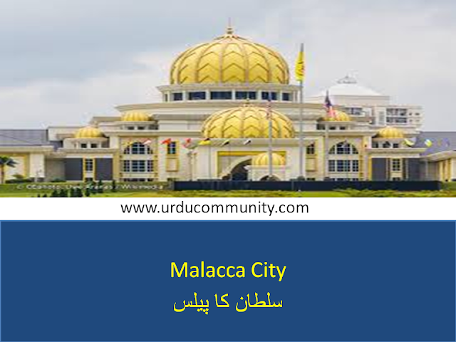 Best places to travel in Malacca,sultan palaca