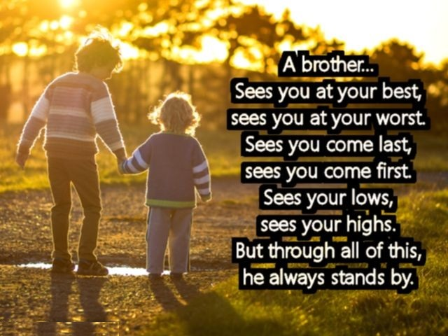 Brother love quotes,quotes for brother and sister