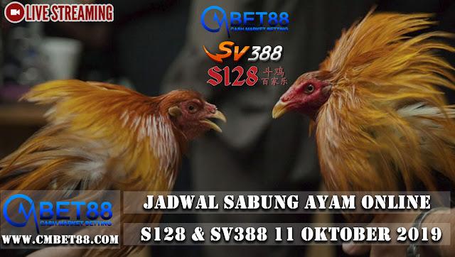 Jadwal Sabung Ayam Online S128 & Sv388 11 Oktober 2019