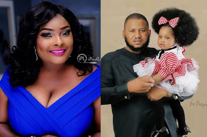 Actress Ronke Odusanya Allegedly Wrecks The Life Of Her Baby Daddy Financially, Drags Him To Court.