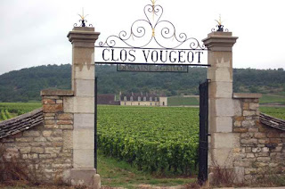 The stone gate of the city of Vougeot Burgundy, France