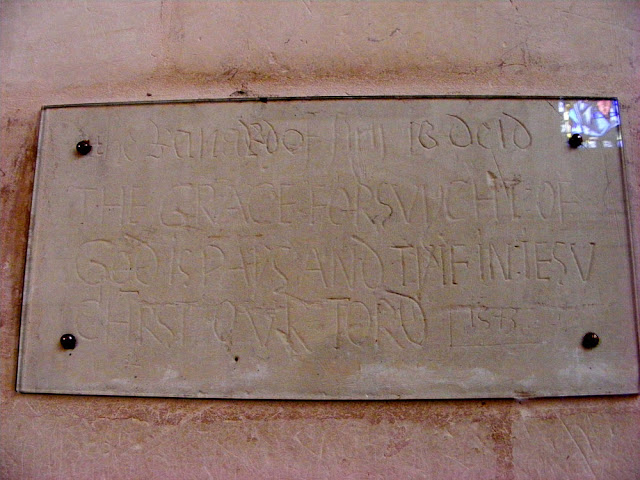 Graffiti in the chapel of Chenonceau. Indre et Loire. France. Photo by Loire Valley Time Travel.