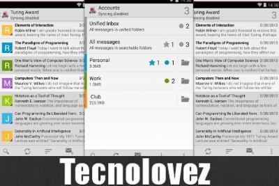 K-9 Mail - Una delle migliori Applicazioni per gestire e tue e-Mail su Android