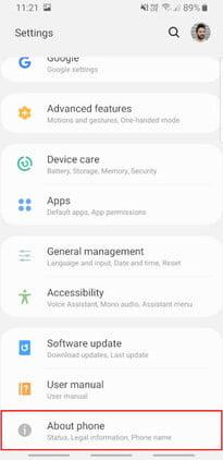 كيفية عمل روت لخيارات مطور android 1