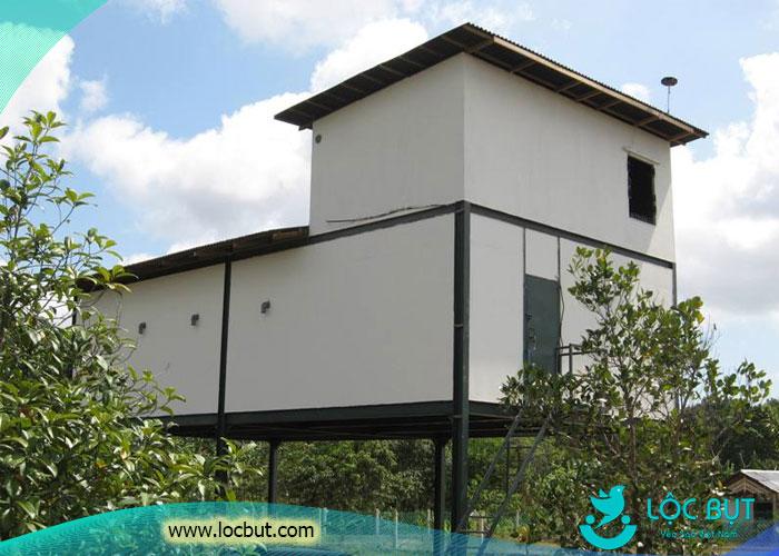 Mô hình nhà yến đơn giản nhưng hiệu quả của người indonesia.