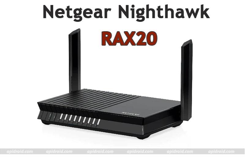 Netgear Nighthawk RAX20 router