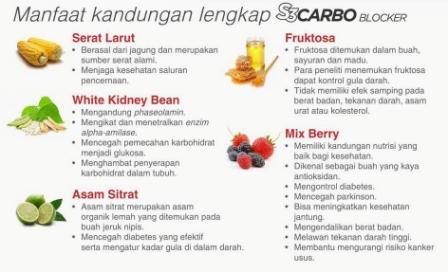 Kandungan S3 Carbo Blocker