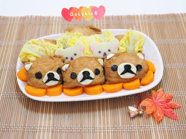 自製兒童餐【熊仔腐皮壽司】